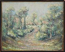 Hans Selke (XX) - Landscape 54 x 68.5