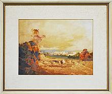 Artist Unknown - Landscape Study 26 x 36cm
