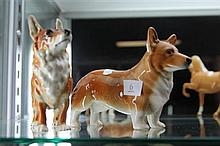 2 Corgi Figures Gobel and Sylvac