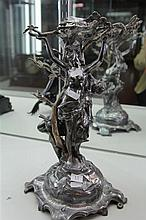 Spelter Figure of Ladies Dancing
