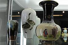3 Japanese Vases