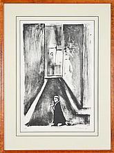 Robert Dickerson (1924 - ) - Counsel (Legal Series) 48 x 31cm