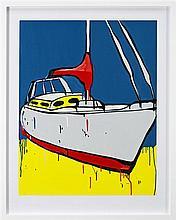 Jasper Knight (1978 - ) - Sea Blue 102 x 76cm
