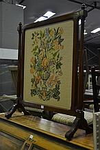 Tapestry Fire-Screen