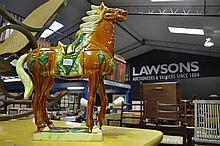 A tang style pottery horse