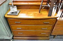Timber Chest of 3 Drawers