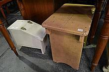 Shoeshine Box and D.P.T Stool