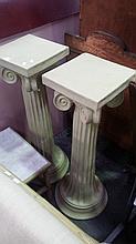 Pair of Composite Plinths