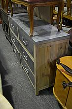 Zinc 6 Drawer Chest of Drawers