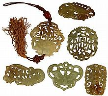 Chinese Carved Pendants