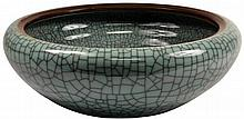 Celadon Crackle Glaze Bowl