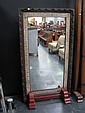 Chinese Decorated Mirror on Stand