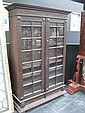 Heavily Carved Shelving Unit with Carved Doors (key in office)