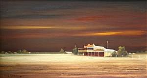 PETER FENNELL (1949 - ) - Untitled (Street Scene), 1977 31 x 55 cm