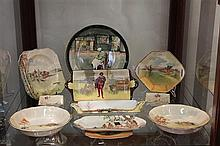 Collection of Royal Doulton Wares incl. Cabinet Plates, Bowls, Serving Trays & Others