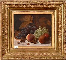 British school 19th Century still life oil on canvas  -- Size 25 cm x 31 cm