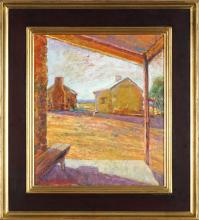 Brian Seidel born 1928 - Old Wirrealpa Homestead 1996 39.0 x 33.5 cm
