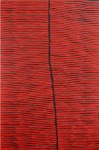 Ronnie Tjampitjinpa - Bush Fire Dreaming 180 x 120cm