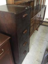 A Parker furniture sideboards, two drawers over four cupboard drawers, H 88 x W 182 x D 46cm