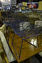Set of 4 Wire Frame Chairs