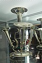Silver Plated 4 Trumpet Epergne