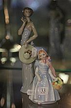 Royal Doulton 'Wendy' Figure & Nao Figure