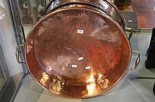 Georgian Copper Jam Pan