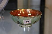 Wedgwood Lustre Ware Bowl with Butterfly Decoration