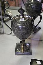 Victorian Plated Samovar marked SB&M