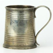 Alexander Dick Sterling Silver Christening Mug