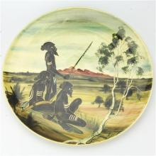 Martin Boyd Aboriginal Display Plate