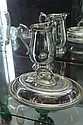 Silver Plated Lidded Serving Dish & a Water Jug