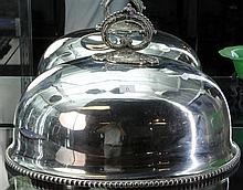 Large Victorian EP Meat Dome