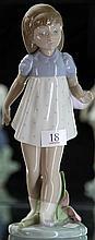Lladro Figure of Girl