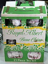 Royal Albert 'Lavender Rose' Tea Set in Box
