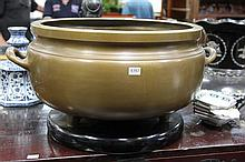 Large Bronze Hibachi