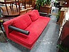 B & B Italia 3 Seater Lounge with Red Cushions