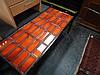 Orange Tile Top Coffee Table