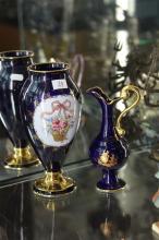 Limoges Vase & Ewer