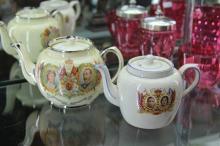 Royal Commemorative Teapots (2)