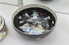 English Hand Painted Bowl