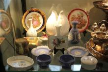 Wedgwood Jasper Ware Vase with Other Ceramics incl Royal Doulton