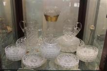 Cut Crystal Jugs with Other Glass & Crystal Wares