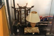 Oriental Glass Lamp & Table Lamp