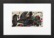 Joan Miró (1893 - 1983) - Iran, 1974 20 x 40cm