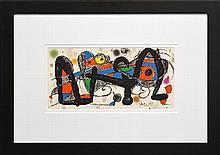 Joan Miró (1893 - 1983) - Portugal, 1974 20 x 40cm