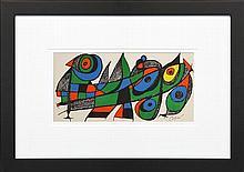 Joan Miró (1893 - 1983) - Japan, 1974 20 x 40cm