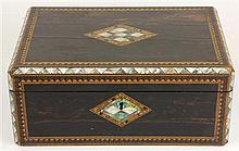 Victorian Rosewood Box