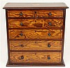 Victorian Baltic Pine Apprentice Chest Jewellery Box