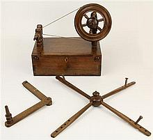 Victorian Miniature Spinning Wheel